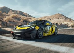 The new Porsche 718 Cayman already has GT4 Clubsport racing version: atmospheric six-cylinder and 425 HP